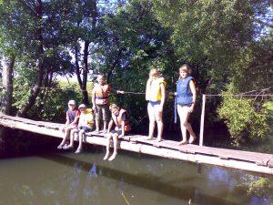 Plaukimas baidarėmis Verkne