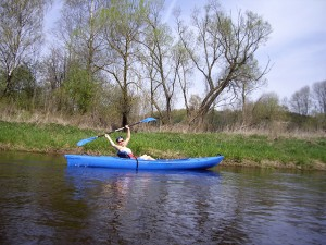 Baidarėmis-Dubysos-Upe